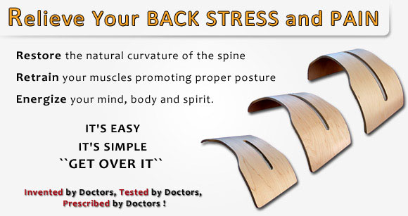 Back Pain?  Get Over It!